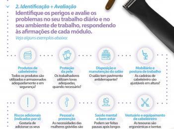 Reduza os riscos com a OiRA: FERRAMENTA PARA CABELEIREIROS