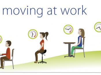Get moving at work